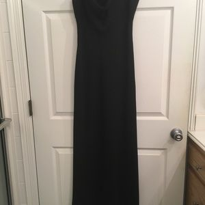 Black prom dress, only worn for a few hours